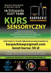 Kurs sensoryczny (II)
